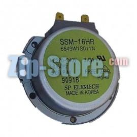 6549W2S002Z Двигатель SSM-16HR вращения поддона LG Original