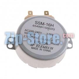 6549W1S002Q Двигатель SSM-16H вращения поддона 220V LG Original