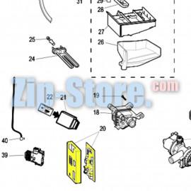 C00525781 Модуль управления силовой Windystripum Indesit Original