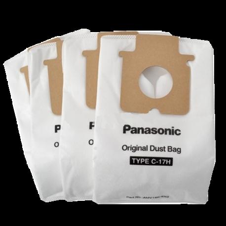 Vacuum bags - panasonic type c-3 bags 3pk - mc-125p